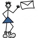 Mic schickt einen Brief neu